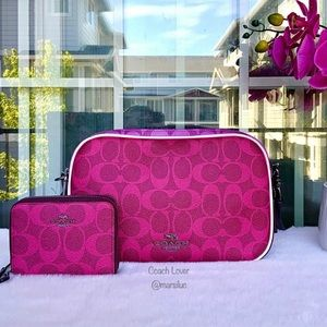 🌺NEW COACH CROSSBODY BAG AND WALLEY SET